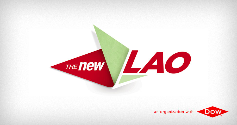 Logo for the new LAO program within DOW Chemical.